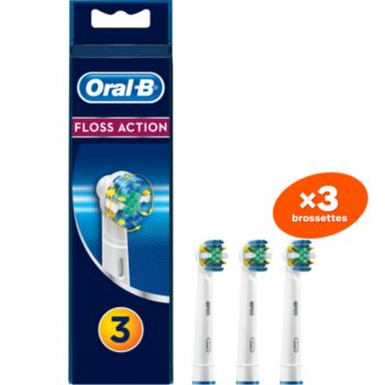 Oral-B EB25 Floss action x3