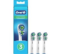 Brossette dentaire Oral-B  EB417  DUAL CLEAN x3