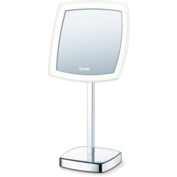 Beurer miroir eclaire bs99 miroir boulanger for Miroir grossissant boulanger