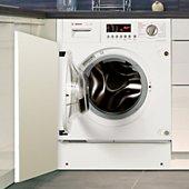 Lave linge séchant hublot encastrable Bosch WKD28541FF