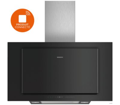 Hotte décorative murale Siemens LC97FLV60 HOME CONNECT