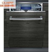 Lave vaisselle tout intégrable Siemens SX636X03NE