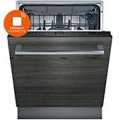 Lave vaisselle tout encastrable Siemens SN65EX56CE  IQ500