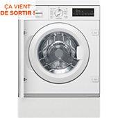 Lave linge hublot encastrable Siemens WI14W548FF