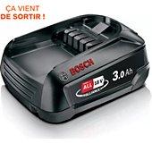 Batterie aspirateur Bosch Power For ALL 18V lithium-