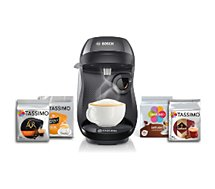 Tassimo Bosch  Happy TAS1002 + 4 packs T-Discs