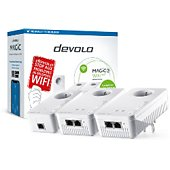 CPL Wifi Devolo Magic 2 Wifi NEXT - 3 adaptateurs