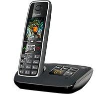 Téléphone sans fil Gigaset C530A Noir