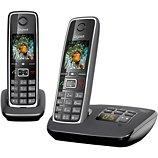 Téléphone sans fil Gigaset  C530A Duo Noir