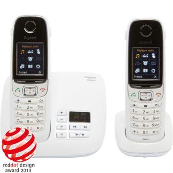 gigaset c620a duo blanc t l phone sans fil boulanger. Black Bedroom Furniture Sets. Home Design Ideas