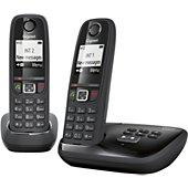 Téléphone sans fil Gigaset AS405A Duo Noir
