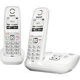 Téléphone sans fil Gigaset  AS405A Duo Blanc