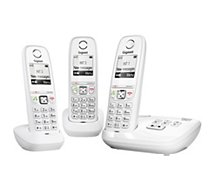 Téléphone sans fil Gigaset AS405A Trio Blanc