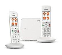 Téléphone sans fil Gigaset E370 Duo Comfort Blanc