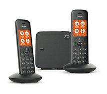 Téléphone sans fil Gigaset  C570 Duo Noir
