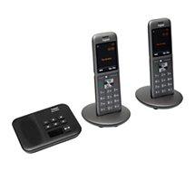 Téléphone sans fil Gigaset  CL660A Duo Noir