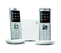 Téléphone sans fil Gigaset  CL660 Duo Blanc