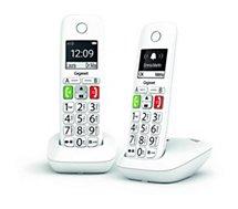 Téléphone sans fil Gigaset  E290 Duo Blanc