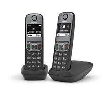 Téléphone sans fil Gigaset  A605 Duo Noir