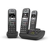 Téléphone sans fil Gigaset A605A Trio Noir
