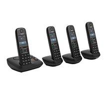 Téléphone sans fil Gigaset  A605A Quattro Noir