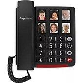 Téléphone filaire Amplicomms Téléphone senior Bigtel 40 PLUS AMPLICOM