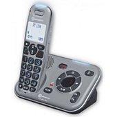 Téléphone sans fil Amplicomms Téléphone Amplifié PowerTel 2780 Réponde