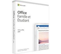 Logiciel de bureautique Microsoft  famille et étudiant