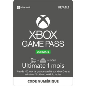 Microsoft Game pass ultimate 1 mois
