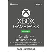 Code Microsoft Game pass ultimate 3 mois