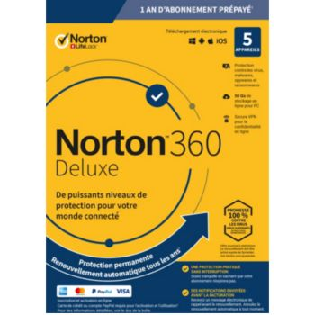 . Norton 360 Deluxe 5 postes
