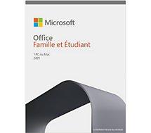 Logiciel de bureautique Microsoft  famille et étudiant 2021
