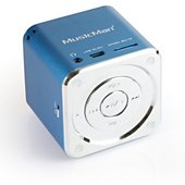 Enceinte sans fil Music Man SoundStation Bleu USB