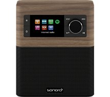 Radio internet Sonoro STREAM walnut/noir