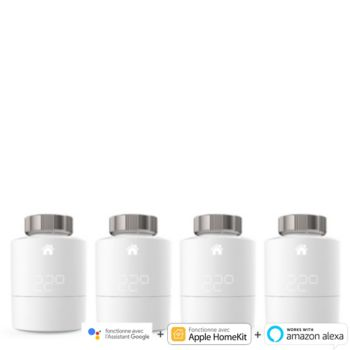 Tado Pack 4Tetes Thermostatiques Intelligente