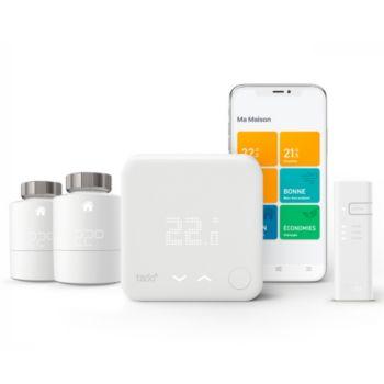 Tado Pack Thermostat Kit V3+ et 2 Tetes