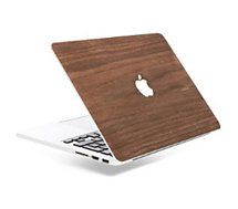 Protection Woodcessories  Macbook 13'' Ecoskin Bois walnut