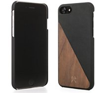 Coque Woodcessories  iPhone 7/8 EcoSplit bois/noir
