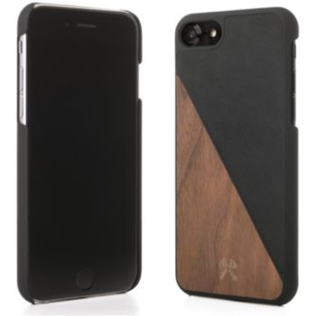 Woodcessories iPhone 7/8 EcoSplit bois/noir