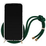 Coque collier Lookabe  iPhone Xr Cordon vert