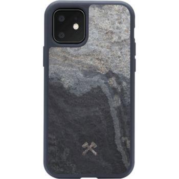 Woodcessories iPhone 11 Pierre volcano noir