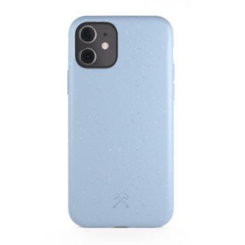 Woodcessories iPhone 11 BioCase bleu lavande