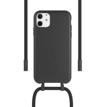 Woodcessories iPhone 11 Tour de cou Bio noir