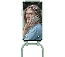 Coque collier Woodcessories  iPhone 11 Tour de cou Bio vert