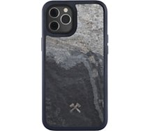Coque bumper Woodcessories  iPhone 12/12 Pro Bumper Pierre gris