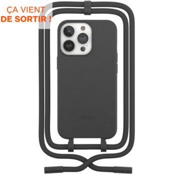 Woodcessories iPhone 13 Pro Max Tour de cou noir