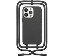 Etui collier Woodcessories  iPhone 13 Pro Max Tour de cou noir