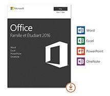 Logiciel de bureautique Microsoft Office Famille et Etudiant Mac