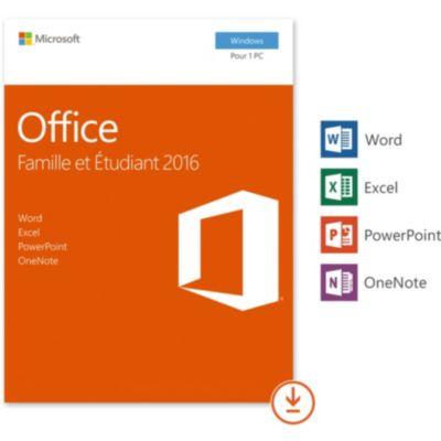 Microsoft office happy achat boulanger - Office famille et etudiant 2013 1 pc ...