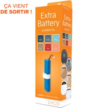 Zaco Remplacement Batterie robots aspira